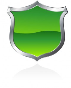 green sheild small