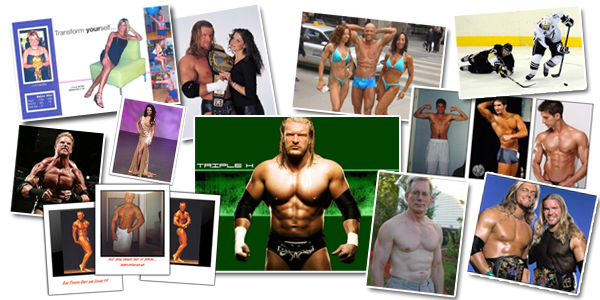 Patrick McGuire's Empowered Nutrition Client-Collage
