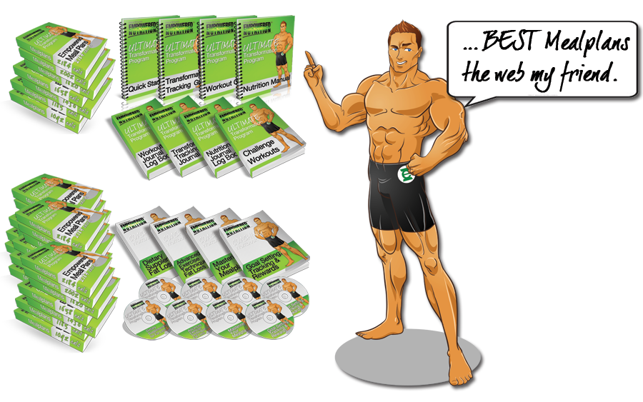 Empowered Nutrition Transformation Meal Plans, Workouts and Coaching Program